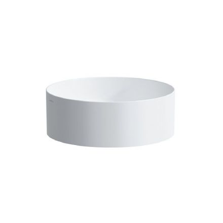 811435 - Laufen Living Square 380mm x 380mm Round Bowl Washbasin - 8.1143.5